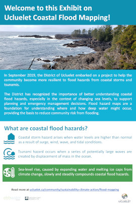 Ucluelet Flood Mapping Project Poster Final