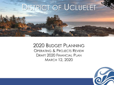 2020 Budget Planning Meeting 12 March 2020