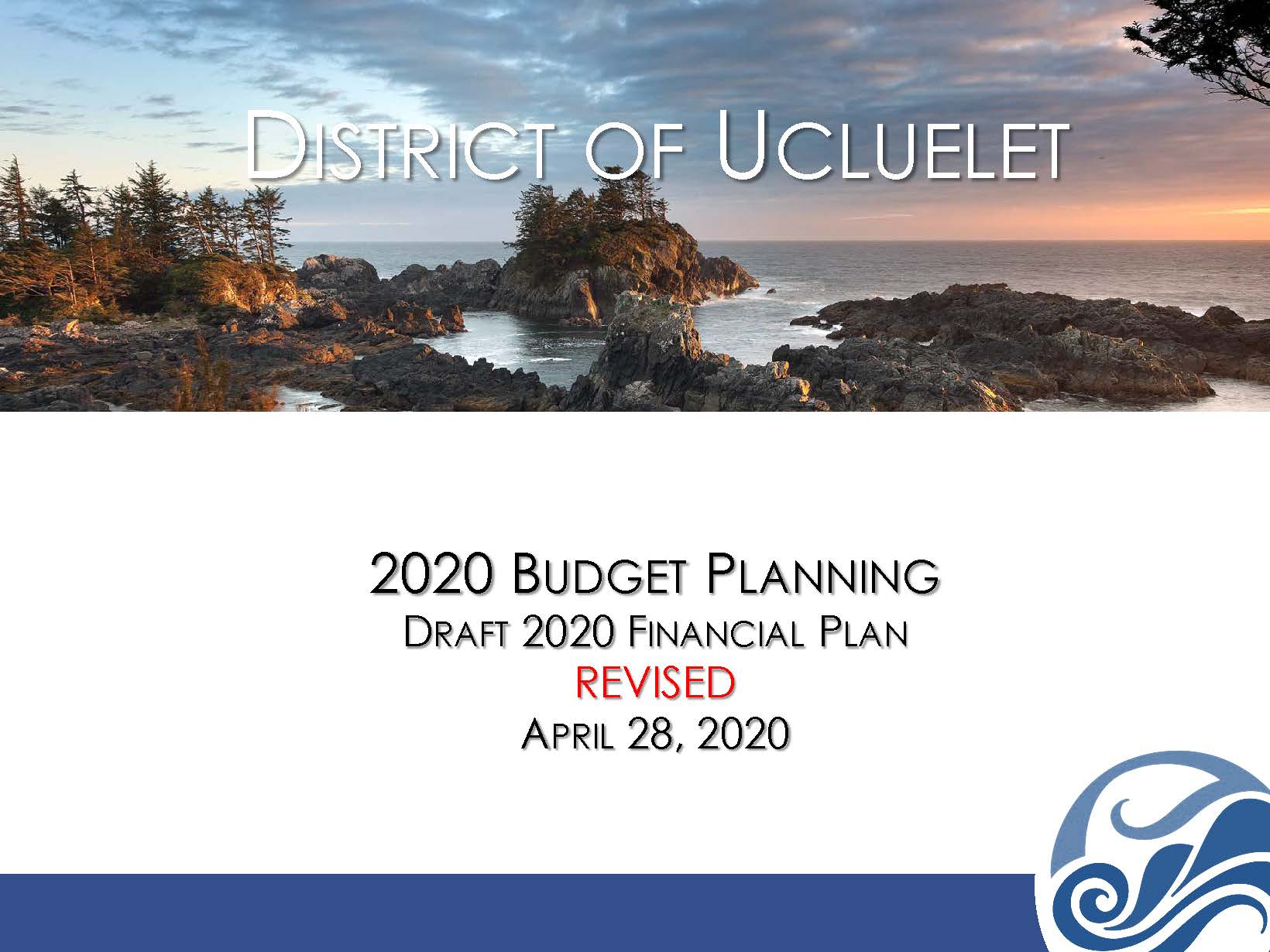 2020 Revised Budget Presentation April 28 2020
