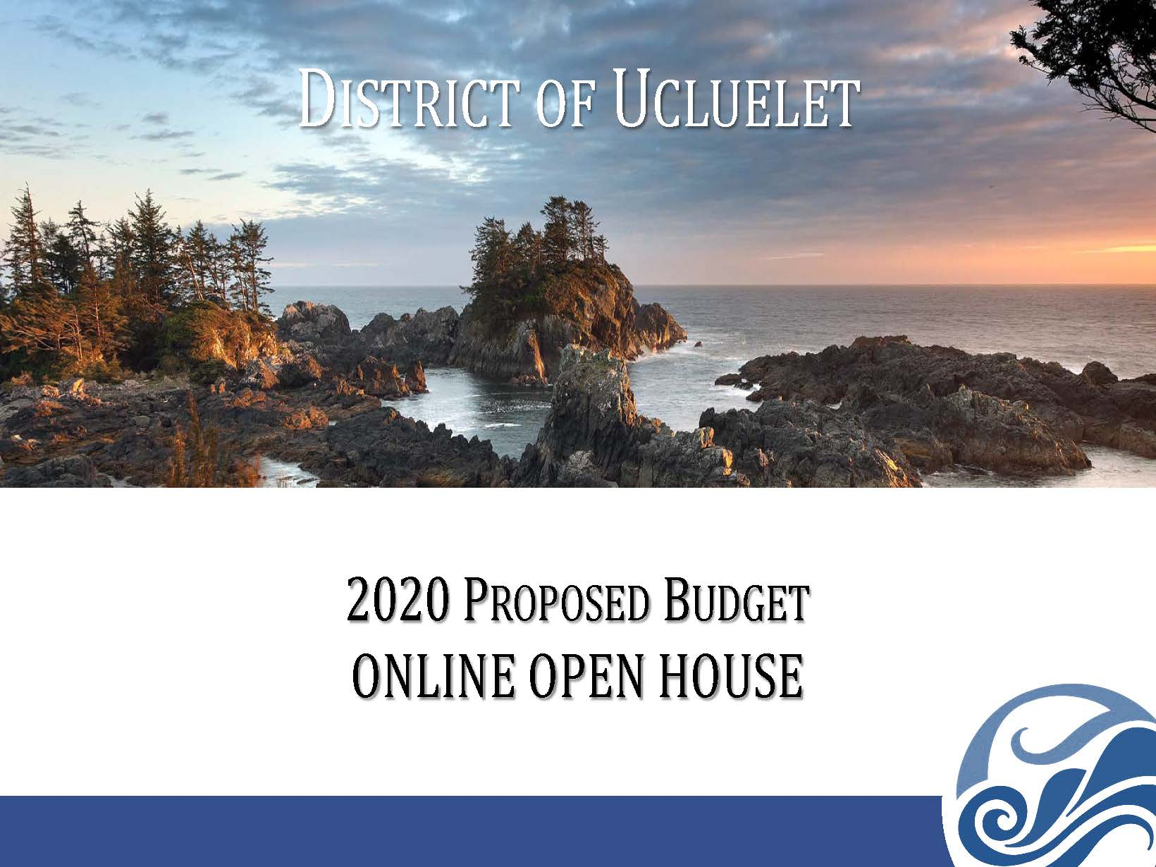 Ucluelet 2020 Budget Public OPEN HOUSE April 29 May 7 Page 01