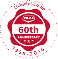 co op 60th anniversary red