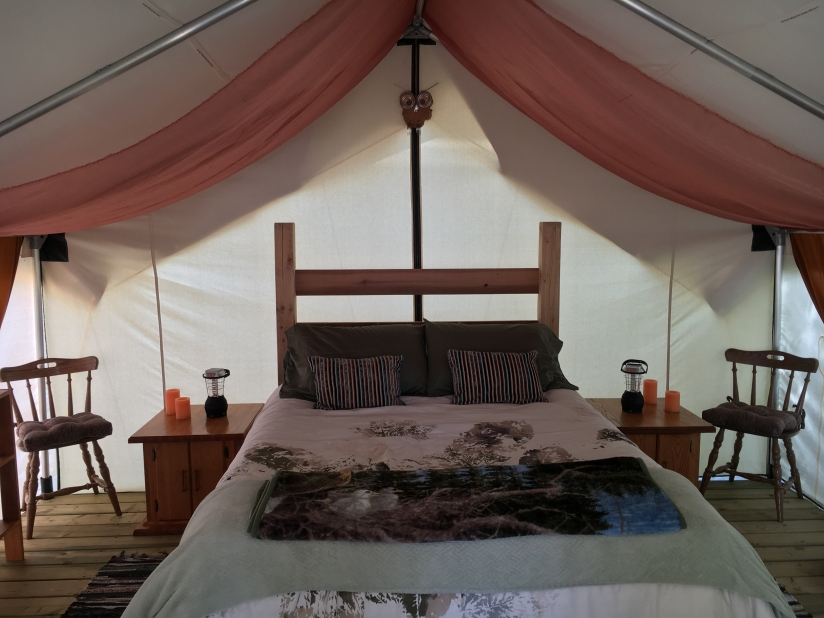So Damn Lucky Vacations - West Coast Glamping